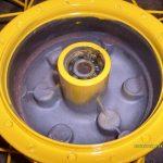 Náboj kola po vyjmutí prachovky