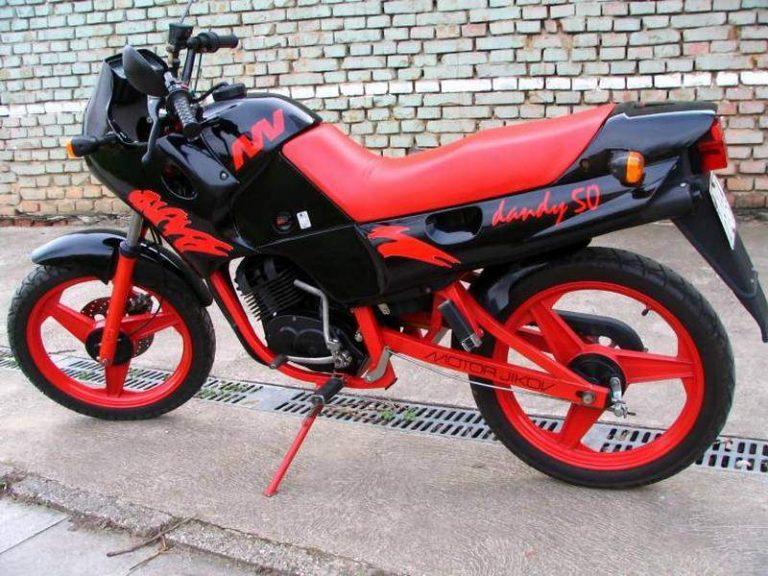 Moto Union (Motor Jikov) - Jawa 50 Dandy
