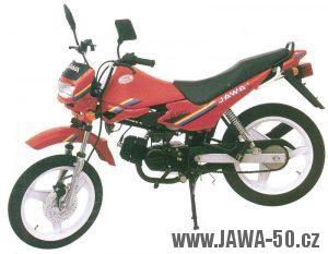 Jawa 50 typ 585 Mosquito - základní (výkonná) verze
