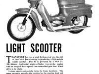 Reklamní prospekt Jawa 05 (1962) export