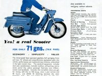 Reklamní prospekt Jawa 05 (Velká Británie)