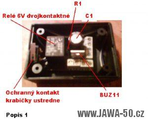 Zapojenie komponentov do alarmovej ústredne