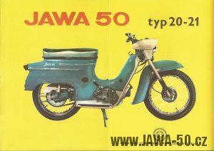 Reklamní prospekt - Jawa 20 Pionýr