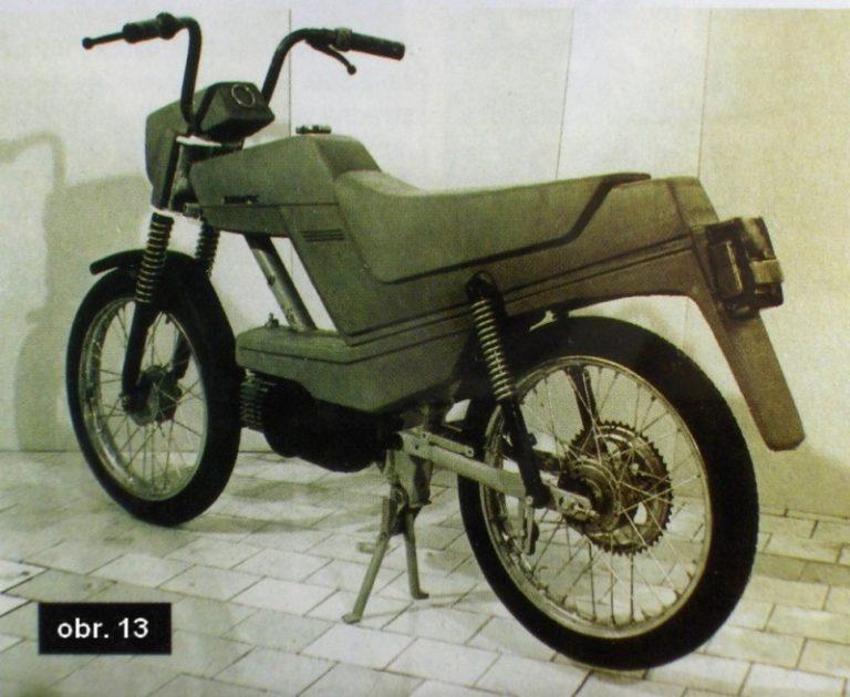 Prototyp mopedu Babetta