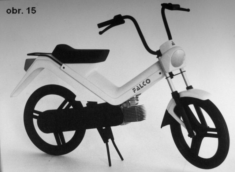 Prototyp mopedu Babetta Falco Mariána Tvrdého
