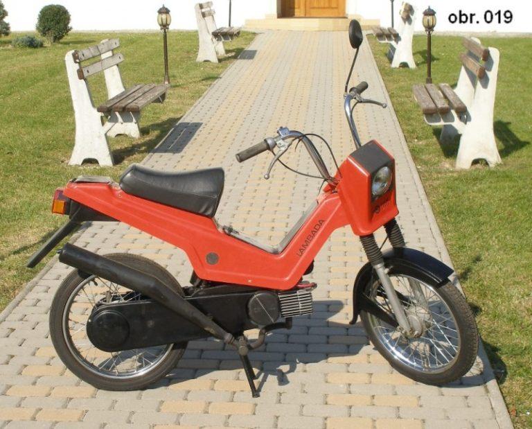 Prototyp mopedu Babetta Lambada II