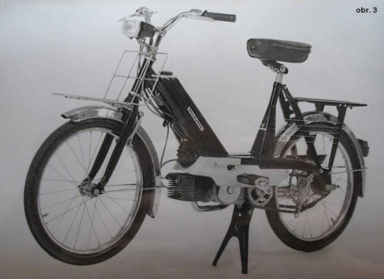Prototyp mopedu mofa M-228 Minitta