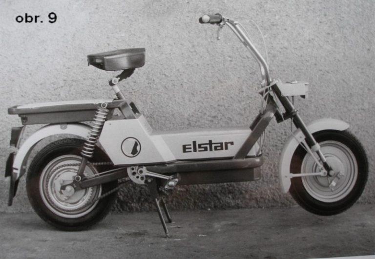 Finální podoba prototypu elektrického mopedu Elstar (Babetta)