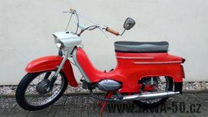 Originální motocykl Jawa 50 typ 05 Sport z roku 1966