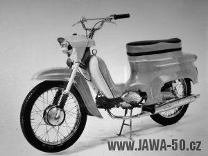 Prototyp motocyklu Jawa 05 Sport z roku 1964