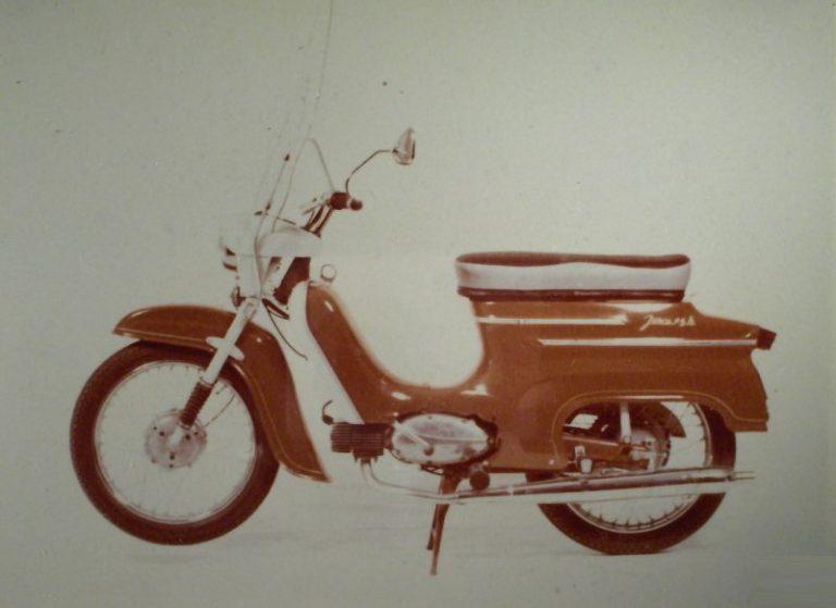 Vývozní motocykl Jawa 05A Sport pro USA a Kanadu