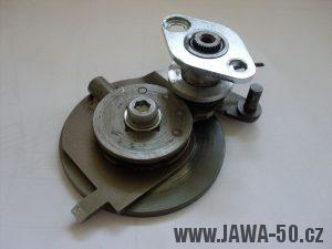 5° převodovka Jawa 50 - řadící automat