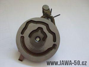 5° převodovka Jawa 50 - kulisa řadícího automatu