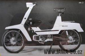 Považské strojírny - prototyp mopedu Mini z roku 1965