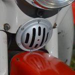 Upravená 12V/100dB houkačka (klakson) ze skútra Italjet na pionýrovi