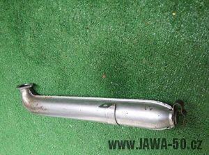 Výfuk Jawa 550 Pionýr (pařez) - starší provedení