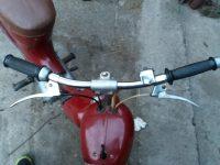 Motocykl Jawa 50 typ 550 Pionýr (pařez) z roku 1958 v originálním stavu - řídítka