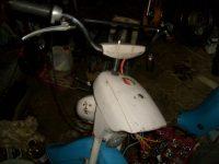 Motocykl Jawa 50 typ 21 Sport (Pionýr) z roku 1968 v původním stavu