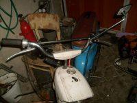 Motocykl Jawa 50 typ 21 Sport (Pionýr) z roku 1968 v původním stavu - stará řídítka s hrazdou