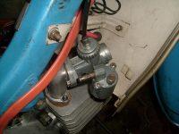 Nejstarší provedení karburátoru Jikov 2917 PSb