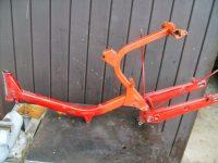 Motocykl Jawa 50 typ 05 Pionýr z roku 1963 v původním stavu - rám (kostra)