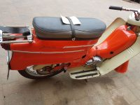 Vývozní (exportní) motocykl Jawa 50 typ 20 Pionýr se sníženým výkonem pro NDR z roku 1969