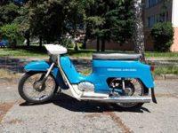 Motocykl Jawa 50 typ 220 Pionýr v původním stavu
