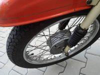 Motocykl Jawa 50 typ 20 Pionýr z roku 1969 v původním stavu - přední blatník a kolo