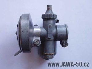 Karburátor Jikov 2914 Hz motocyklu Jawa 550 a Jawa 555