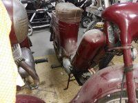 Motocykl Jawa 50 typ 555 Pionýr z roku 1960 v původním stavu
