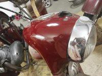 Motocykl Jawa 50 typ 555 Pionýr z roku 1960 v původním stavu - maska předního světlometu