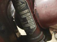 Motocykl Jawa 50 typ 555 Pionýr z roku 1960 v původním stavu - výrobní štítek