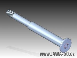 3D model čepu řadící páky motoru Jawa 50 (1966 - 1972)