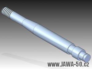 3D model čepu řadící páky motoru Jawa 50 (1979 - 1982)
