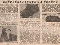 Svět Motorů 6/1958 (strana 175) - Zlepšení Pionýra a Čezety