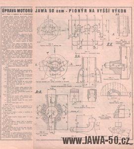 Svět Motorů 12/1958 (strana 367) - Úprava Pionýra na vyšší výkonyssi-vykon