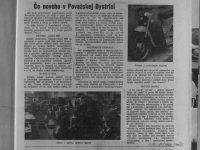 Svět Motorů 10/1959 - Čo nového v Považskej Bystrici