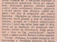 Svět Motorů 17/1959 (strana 540) - Žerie vám Pionier mnoho žiaroviek?