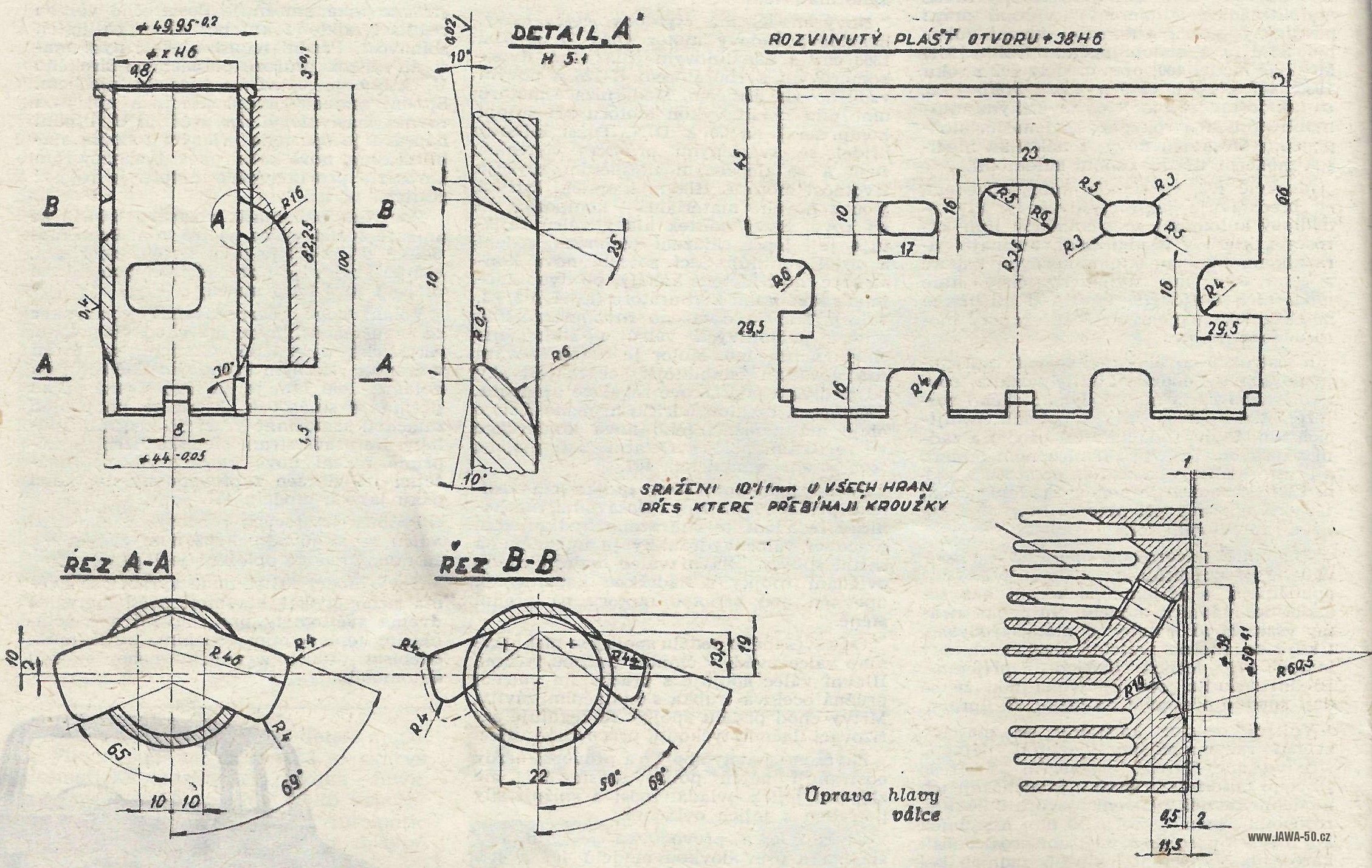 Uprava Motoru Jawa 05 Svet Motoru 24 1964 Jawa 50 Pionyr