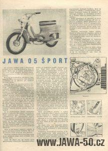 Svět Motorů 11/1965 (22.5.1965) - Jawa 05 Šport