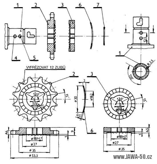 Udělej si sám 45/1983 (strana 40-41) - Volnoběžka mopedu