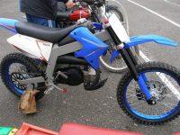 Závodní motocykl Jawa 50 s pětistupňovou převodovkou Jawa 90