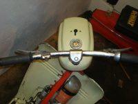 Čtvrté provedení řídítek použývaných na motocyklech Jawa 50 (typ 05, 20)