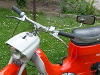 Osmé provedení řídítek používaných na motocyklech Jawa 50 (typu 20, 220)