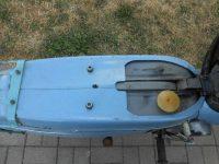 Jawa 21 Sport z roku 1967 v původním stavu - nádrž a staré víčko