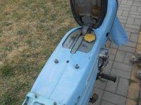 Jawa 21 Sport z roku 1967 v původním stavu - odklopené sedadlo