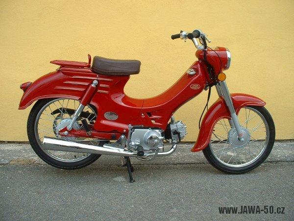 Motoscoot TMEC Jawa 555 New Pionýr - limitovaná retro edice