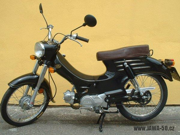 Motoscoot TMEC Jawa 555 New Pionýr - sériové provedení