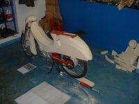Motoscoot Jawa 555 New Pionýr - výroba prototypu