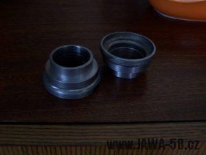 Misky řízení Simson s redukcemi pro krk řízení Jawa 50 Pionýr